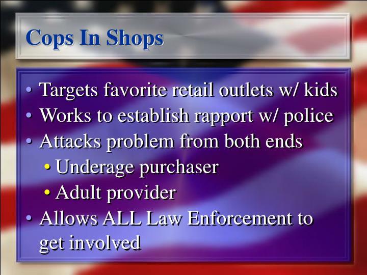 Cops In Shops