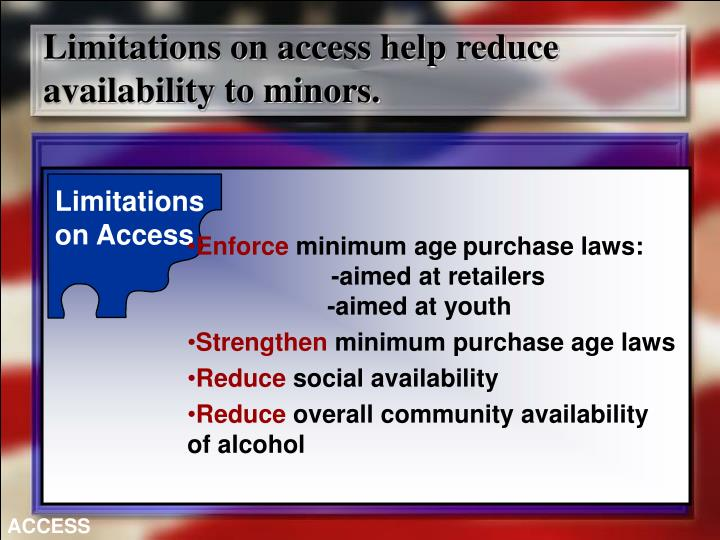 Limitations on Access