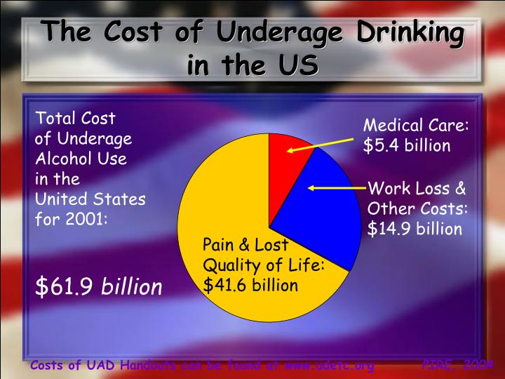 The Cost of Underage Drinking