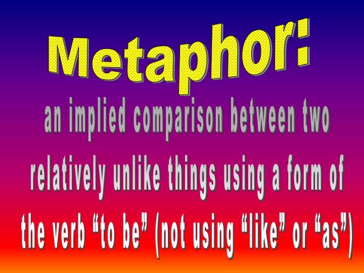Metaphor: