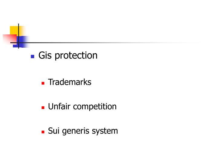 Gis protection