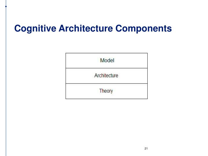Cognitive Architecture Components