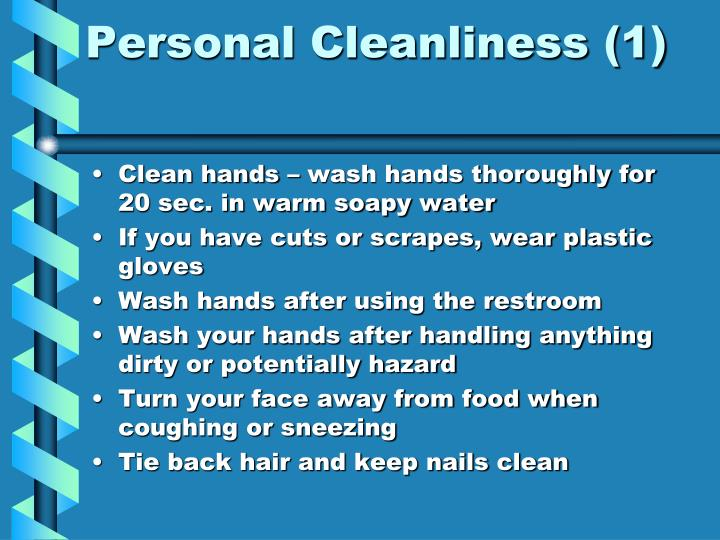 Personal Cleanliness (1)