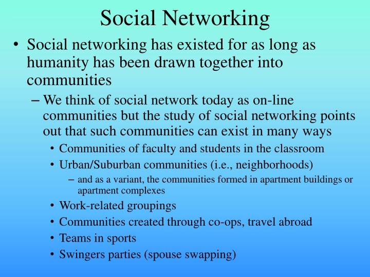 essay points on social networking
