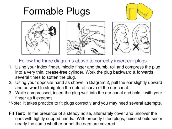 Formable Plugs