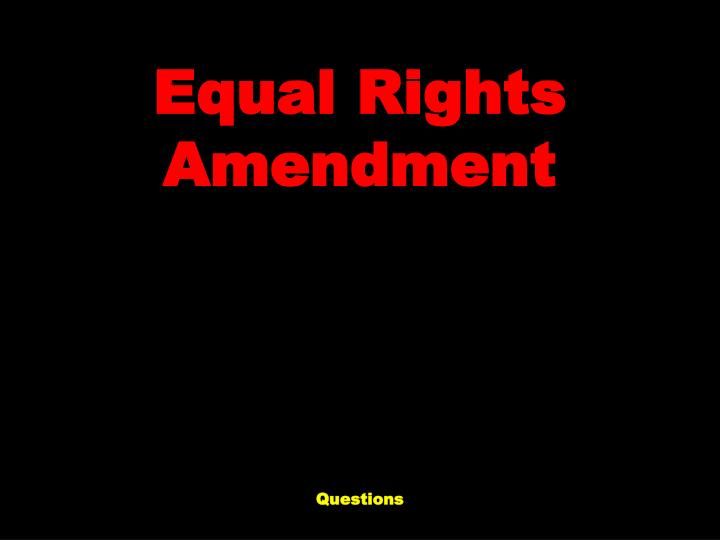 """equal rights proposition presentation powerpoint The code states that the human rights tribunal of ontario may consider the   employee is fired or demoted because she refused a """"sexual proposition"""" from."""