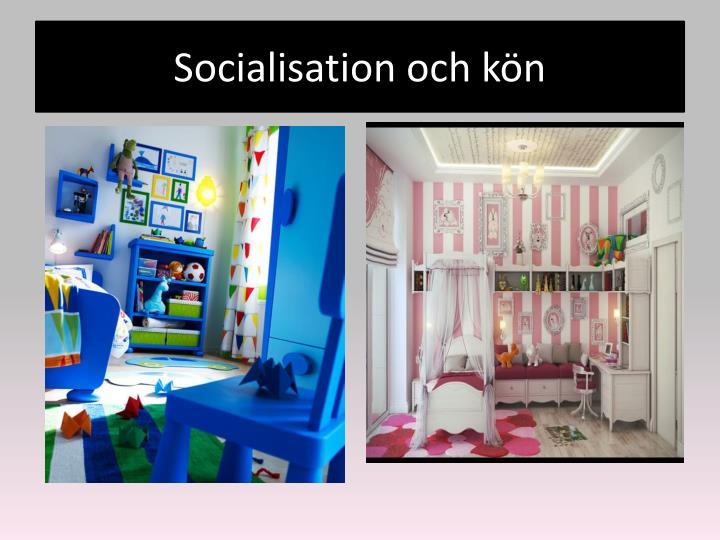 Socialisation och kön