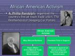 african american activism