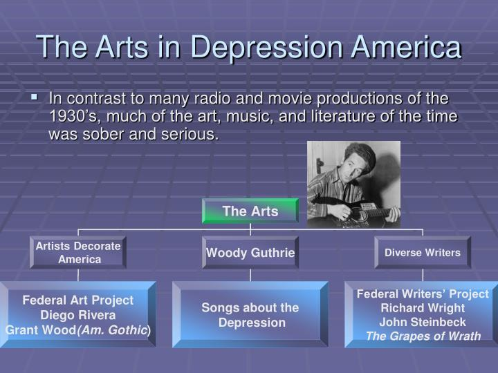 The Arts in Depression America