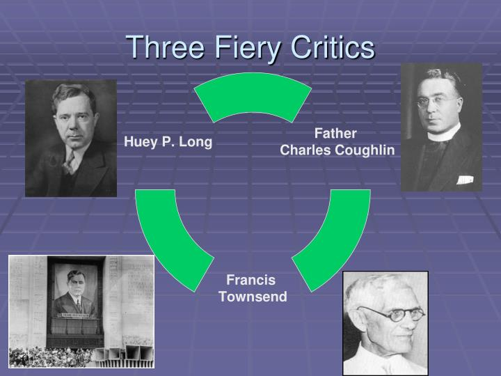 Three Fiery Critics