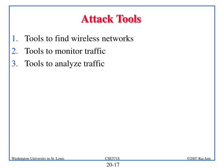 Attack Tools