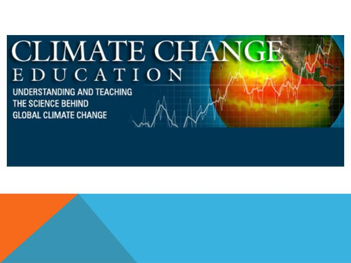 Northern nevada science teachers present climate change activities for the classroom