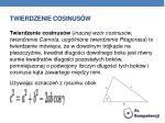 twierdzenie cosinus w