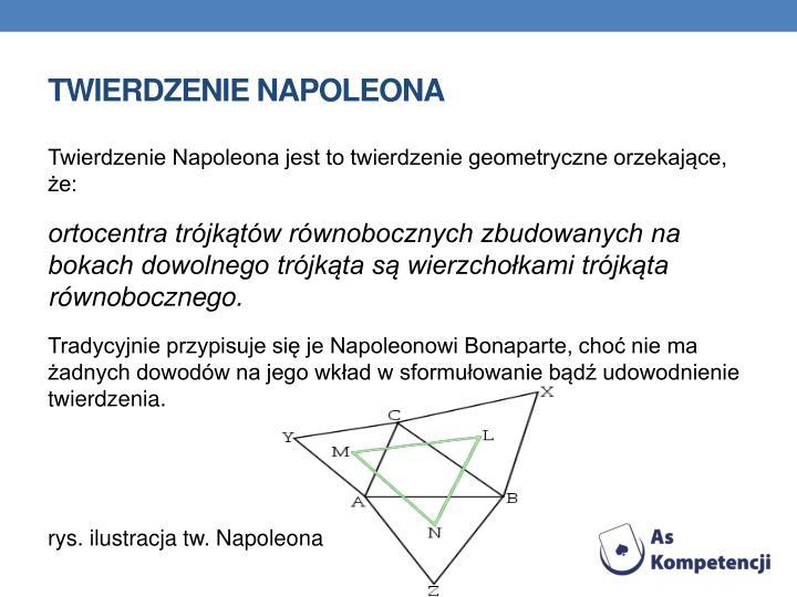 Twierdzenie napoleona