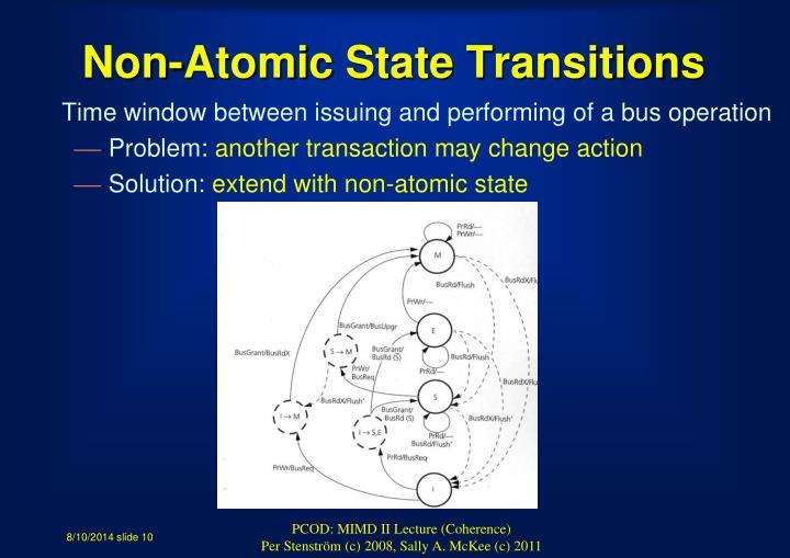Non-Atomic