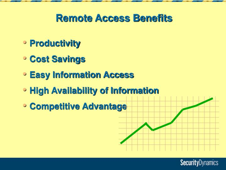 Remote Access Benefits