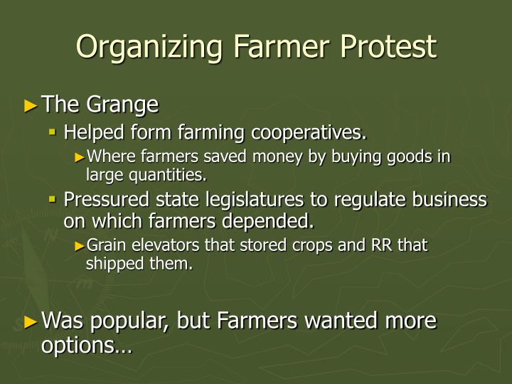 Organizing Farmer Protest