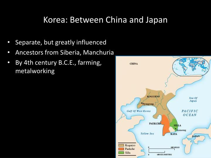 Korea: Between China and Japan