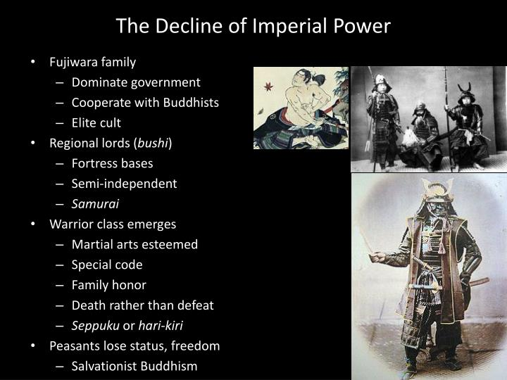 The Decline of Imperial Power