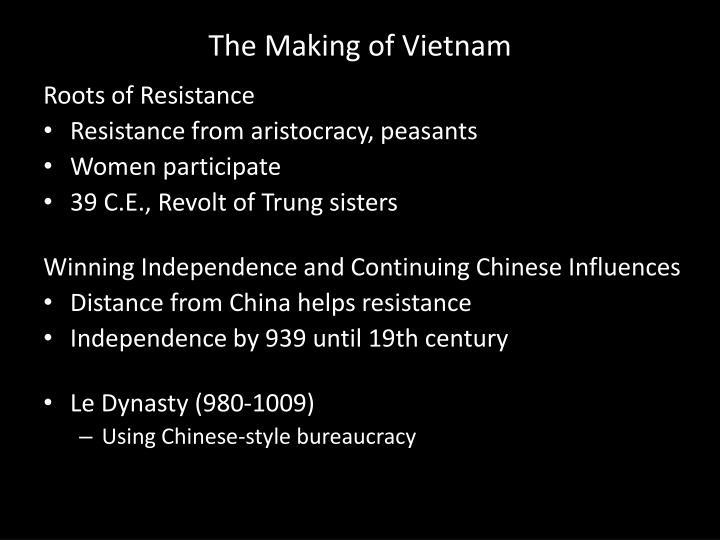 The Making of Vietnam