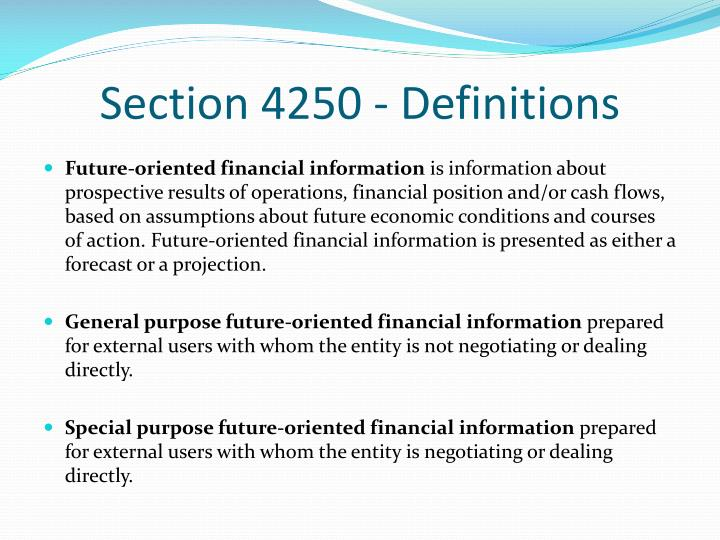 Section 4250 - Definitions