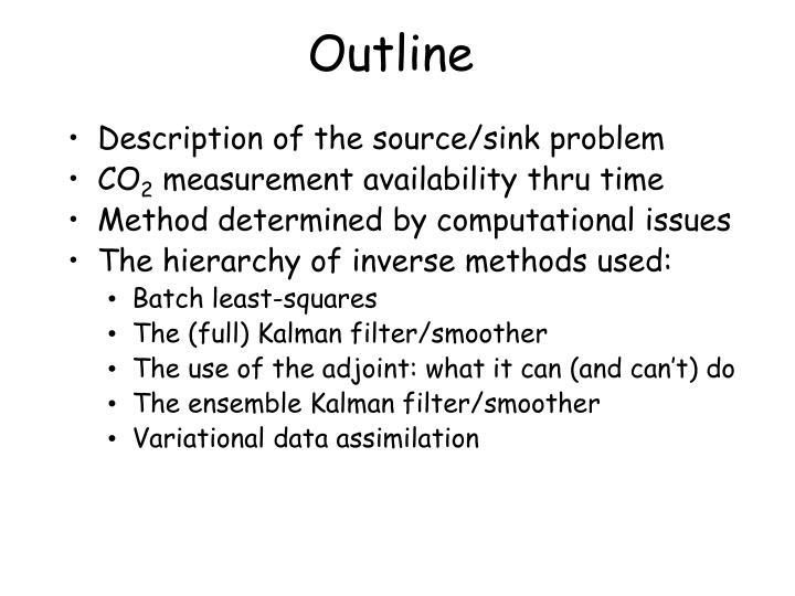 Description of the source/sink problem