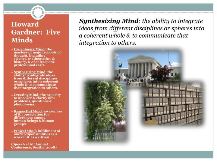 Synthesizing Mind