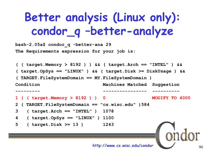 Better analysis (Linux only):