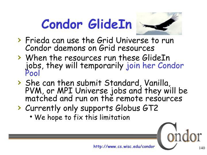 Condor GlideIn