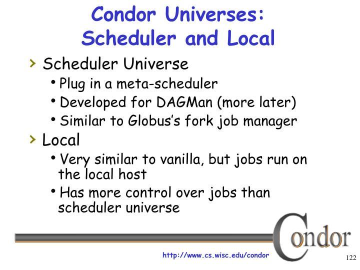 Condor Universes: