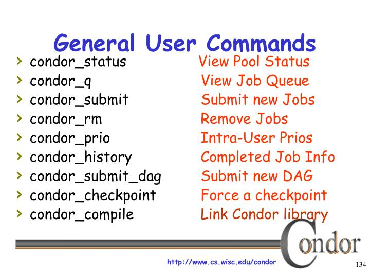 General User Commands