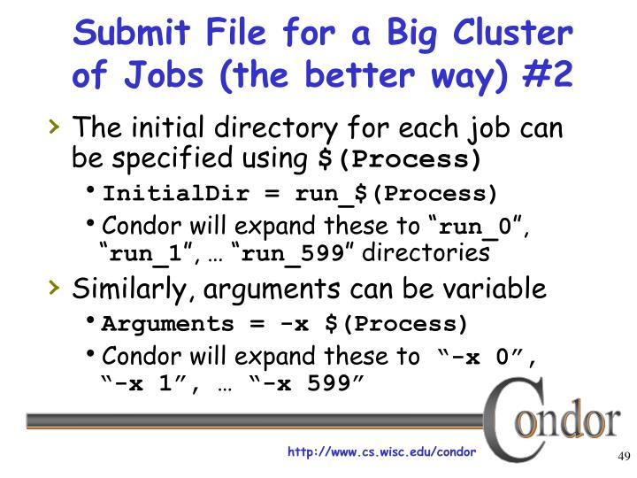 Submit File for a Big