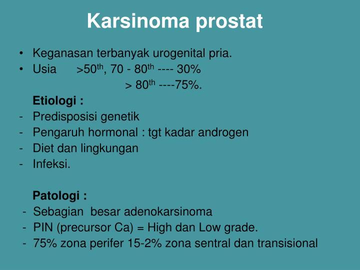 Karsinoma prostat