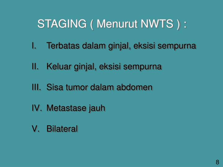 STAGING (