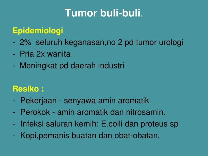 Tumor buli-buli