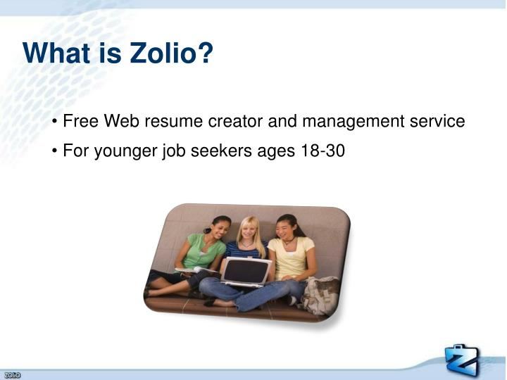 What is Zolio?
