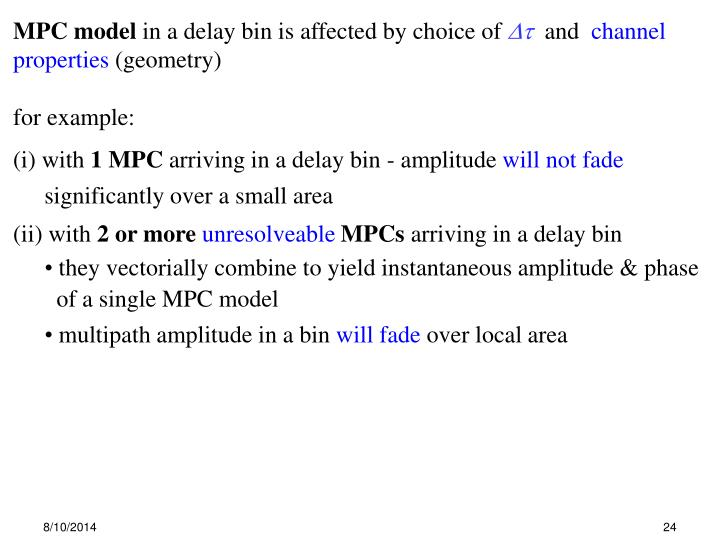 MPC model