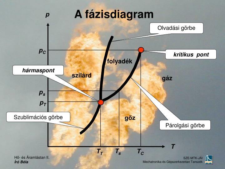 A fázisdiagram