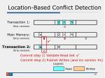 location based conflict detection3