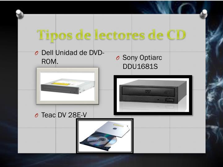 Tipos de lectores de CD
