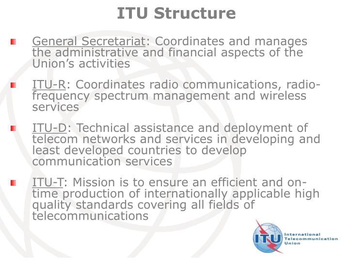 ITU Structure