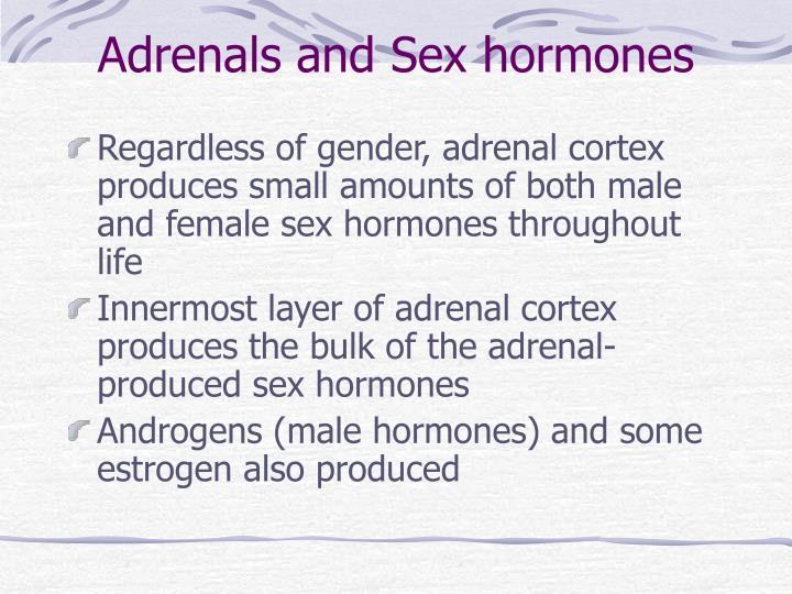 Adrenals and Sex hormones