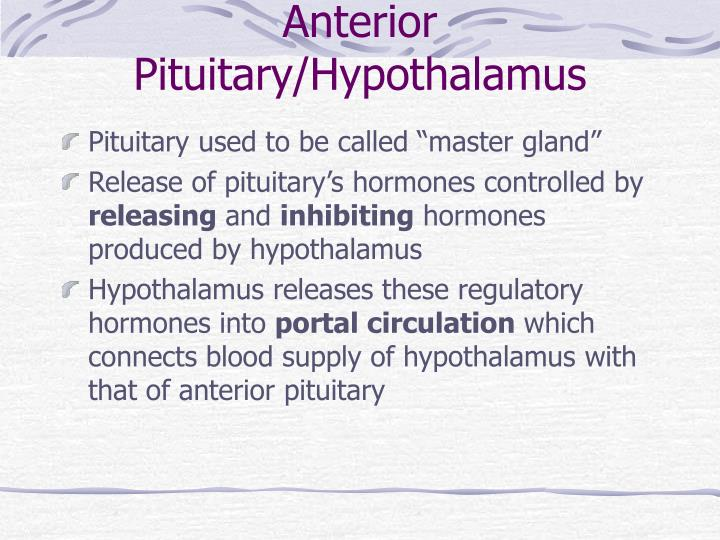 Anterior Pituitary/Hypothalamus