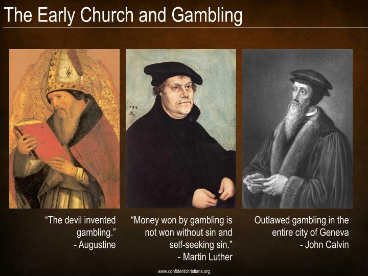 The Early Church and Gambling