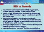 rtd in slovenia