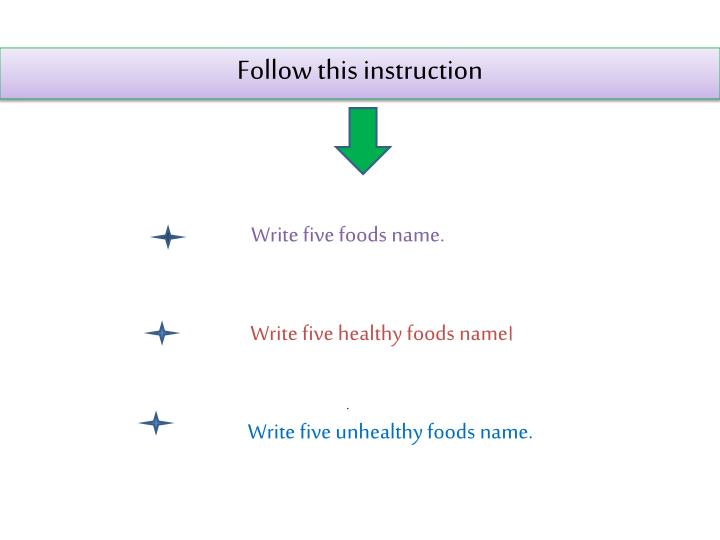 Follow this instruction