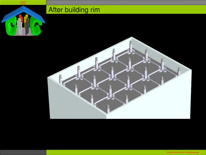 After building rim