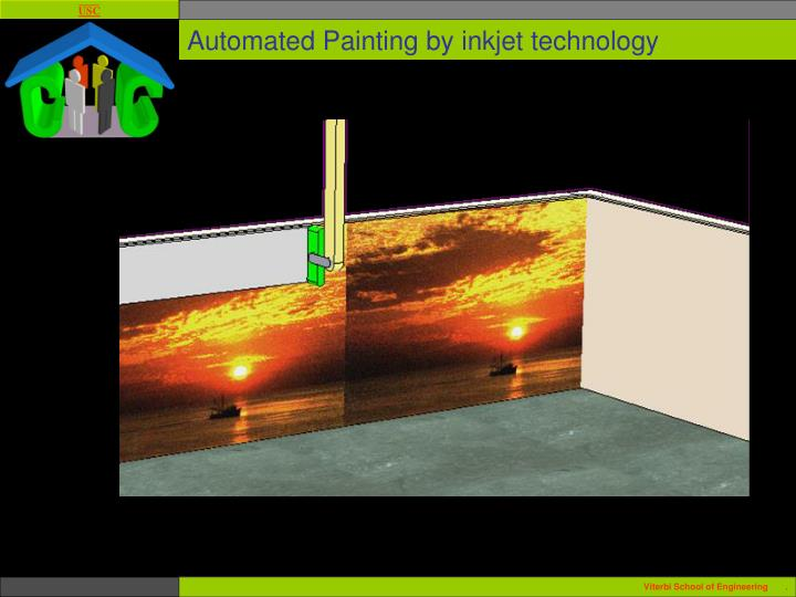 Automated Painting by inkjet technology