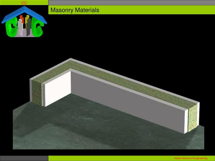 Masonry Materials