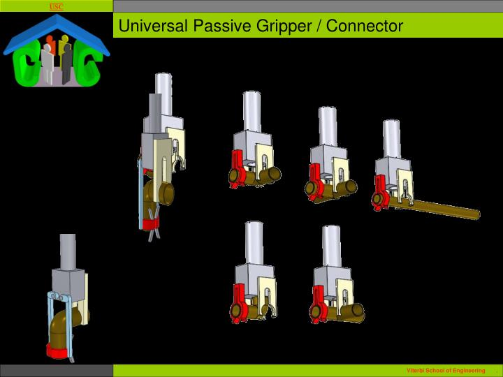 Universal Passive Gripper / Connector